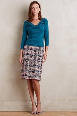 Anthropologie - Moulinette Soeurs Svetla Lace Pencil Skirt