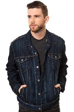 Levis  - The Relaxed Trucker Jacket in Gridlock