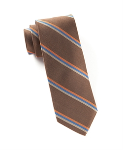 The Tie Bar - Roadway Stripe Tie