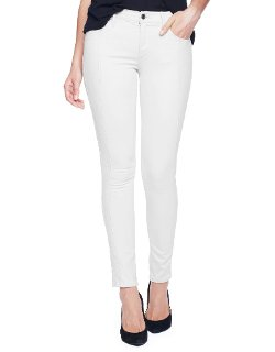 True Religion - Halle Mid Rise Super Skinny Jeans