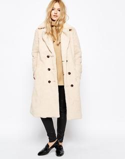 Story of Lola - Teddy Bear Faux Fur Coat