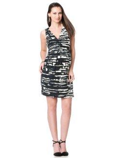 BCBGMAXAZRIA  - Sleeveless Ruched Maternity Dress