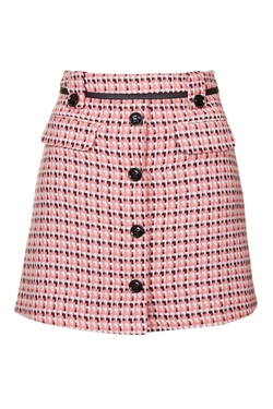 Topshop - Button Front Pelmet Skirt