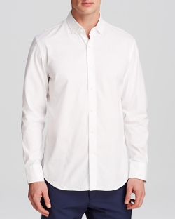 Kent and Curwen  - Classic Pinpoint Button Down Shirt