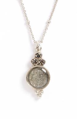 Virgins Saints & Angels - Saint Lucia Charm Necklace