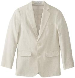 Perry Ellis  - Boys 8-20 Linen Herringbone Jacket
