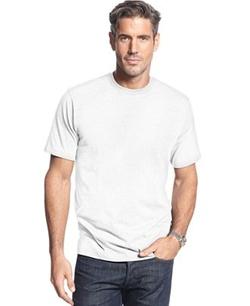 John Ashford - Short Sleeve Crew Neck Solid T-Shirt