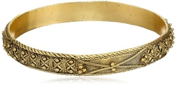 T.R.U. Jewelry - Jewelry Matte Gold Bangle Bracelet