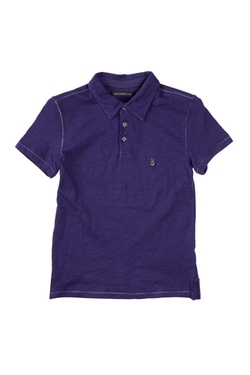 John Varvatos - Contrast Stitching Polo Shirt