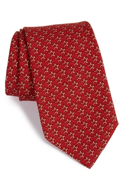 Vineyard Vines  - Houston Astros MLB Print Silk Tie