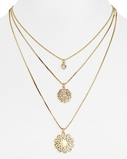 Kate Spade New York - Multi Strand Pendant Necklace