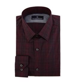 Hart Schaffner Marx - Shadow Plaid Woven Shirt