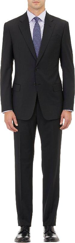 Armani Collezioni - Twill Two-Button Suit