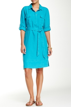 Tommy Bahama  - Two Palms Linen Shirt Dress