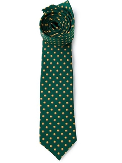 Fefè  - Small Circles Printed Tie