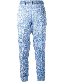 COAST+WEBER+AHAUS  - paisley print trousers