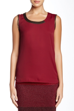 Anne Klein - Shimmer Trim Blouse