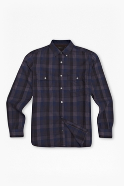 French Connection - Route 66 Plaid Shirt