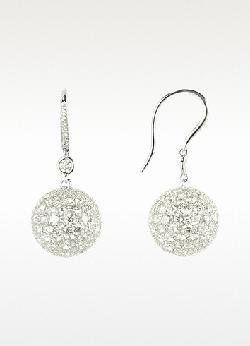 Colucci Diamonds  - White Gold Diamond Drop Earrings