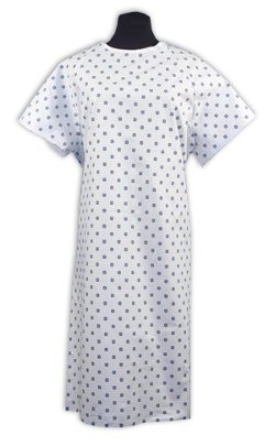 Nobles Health Care - Demure Print Hospital Gown