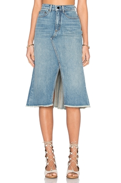 Denim X Alexander Wang - A-Line Skirt