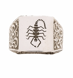 Cast Of Vices - X Herman Scorpion Ring