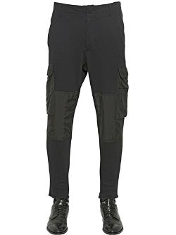 Alexander Mcqueen  - Cotton Cargo Jogging Trousers