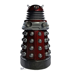 Superhero Stuff - Doctor Who Red Dalek Cardboard Cutout