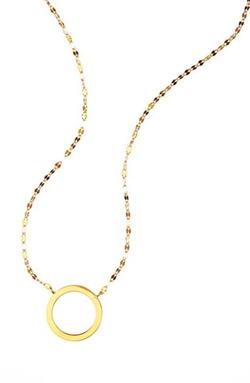 Lana Jewelry - Mini Circle Pendant Necklace
