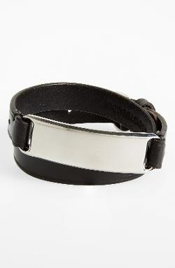 Ralph Lauren  - Double Wrap Leather Bracelet