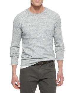 Vince  - Melange Knit Raglan Sweater