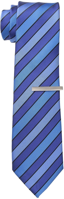 Little Black Tie - Dempster Stripe Tie