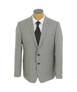 Tahari - Mini Check Modern Fit Wool Suit