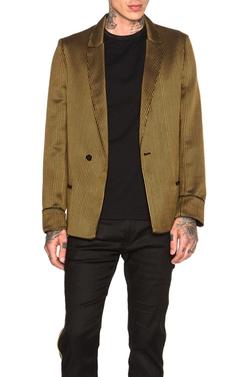 Haider Ackermann  - Pyjama Gold Tipped Blazer