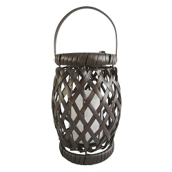 Sonoma Outdoors - Wicker Solar Lantern