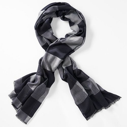 Simply Vera Vera Wang  - Plaid Oblong Scarf