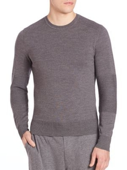 Polo Ralph Lauren - Ribbed-Panel Wool Sweater