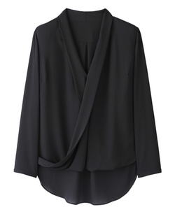 Simply Be  - Wrap Front Blouse