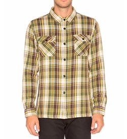Undefeated - Und Plaid Flannel Button Down  Shirt