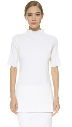 Edun - Rib Short Sleeve Sweater