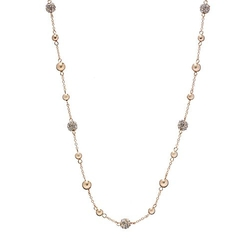 Chaps  - Bead Long Station Necklace