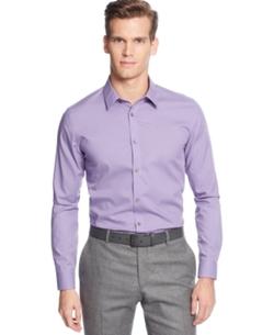 Calvin Klein - Micro Check Poplin Shirt