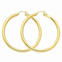 Sonia Jewels - Tube Hoop Earrings