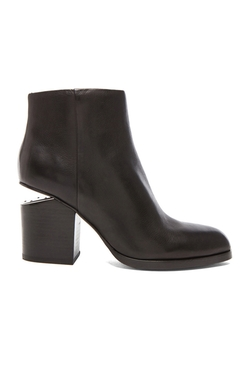 Alexander Wang - Gabi Leather Ankle Booties
