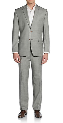 Lauren Ralph Lauren - Regular-Fit Sharkskin Wool Suit
