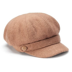 Sonoma Life + Style - Boucle Belted Button Newsboy Hat