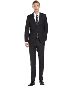Z Zegna  - Diamond Wool Two Button Suit
