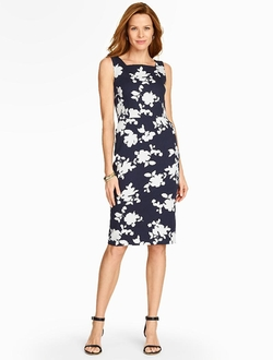 Talbots - Shadow Roses Dress