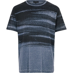 River Island - Brush Stroke Print T-Shirt