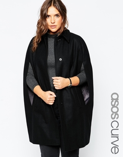 Asos Curve  - Cape Coat